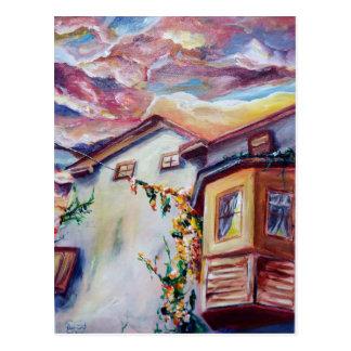 Cloud House Postcard