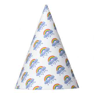 Cloud love Valentine's day Party Hat