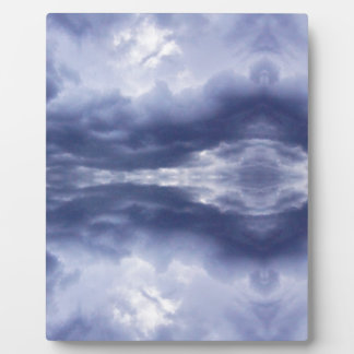 Cloud mirror plaque