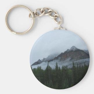 Cloud Mountain Keychain