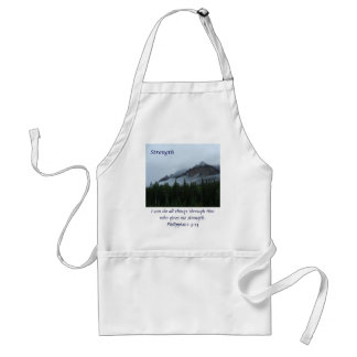 Cloud Mountain - Strength Adult Apron