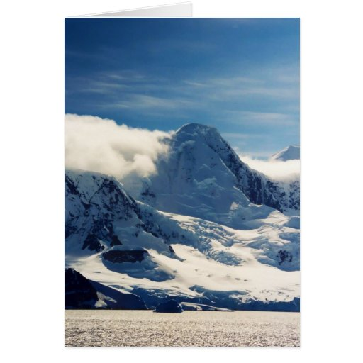 Cloud Mountains, greeting card