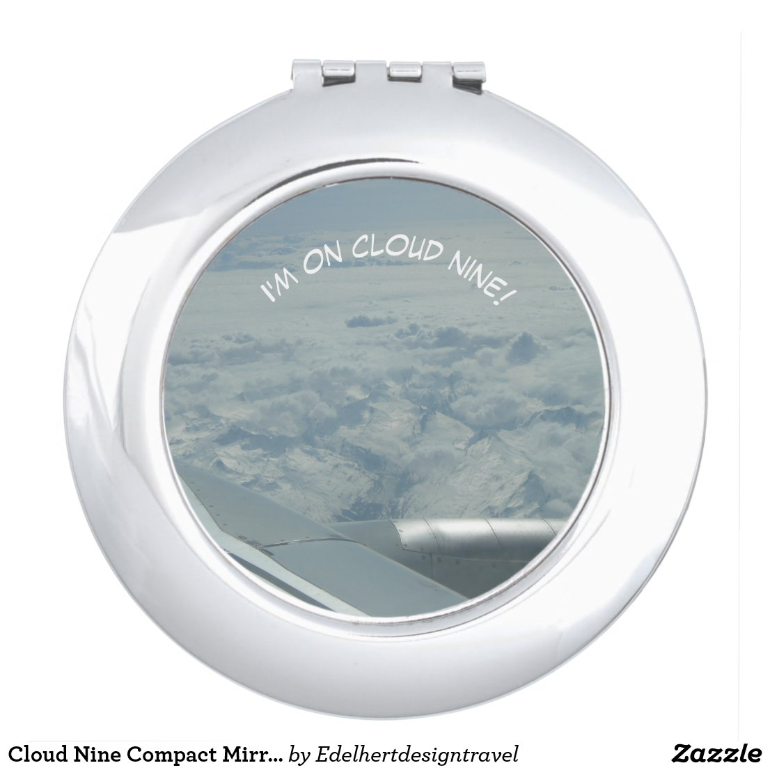 Cloud Nine Compact Mirror