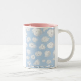 Cloud Nine, light Coffee Mugs