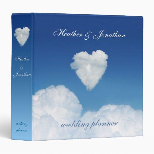 Cloud Nine Love Wedding Planner Binder