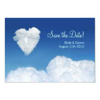 Cloud Nine - Save the Date card Announcement