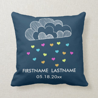 Cloud of Love Nursery Throw Pillow