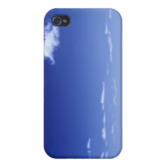 Cloud Over The Ocean iPhone 4 Cover