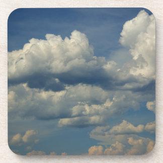 Cloud P7148 Cork Coaster
