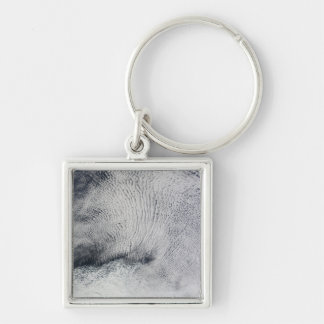 Cloud patterns and sea ice in the Southern Ocea Keychain