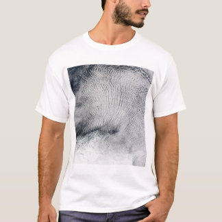 Cloud patterns and sea ice in the Southern Ocea T-Shirt