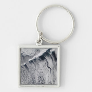 Cloud patterns visible over the Aleutian Island Keychain
