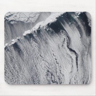 Cloud patterns visible over the Aleutian Island Mousepads