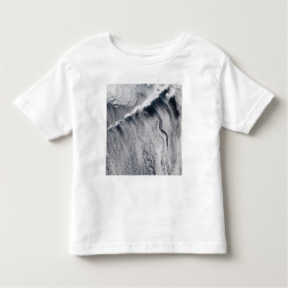 Cloud patterns visible over the Aleutian Island Toddler T-shirt