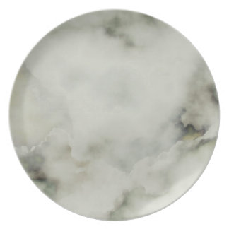 Cloud. Plate