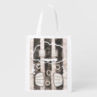 Cloud Prison Reusable Bag