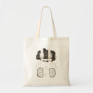 Cloud Prison With No Background Bag