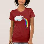 Cloud Puking Rainbows Tshirts