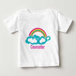 Cloud Rainbow Counselor Baby T-Shirt
