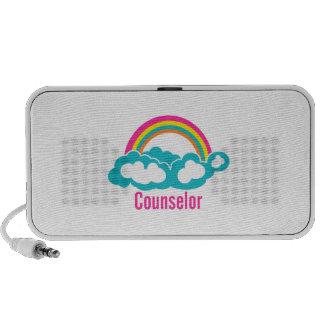 Cloud Rainbow Counselor Travel Speaker