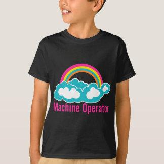 Cloud Rainbow Machine Operator T-Shirt