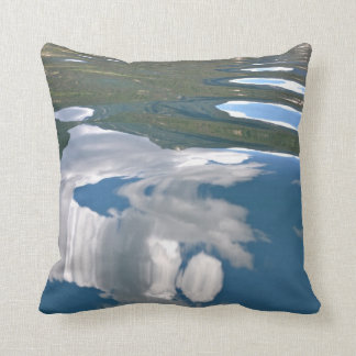 Cloud Reflection Throw Pillow