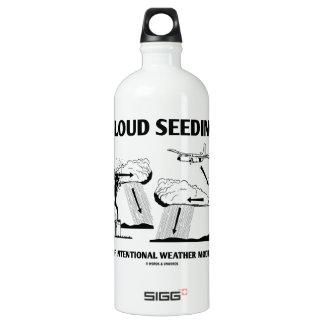 Cloud Seeding Intentional Weather Modification SIGG Traveler 1.0L Water Bottle