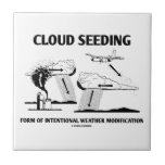 Cloud Seeding Intentional Weather Modification Tile