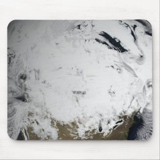 Cloud simulation of a single day 2 mouse pad