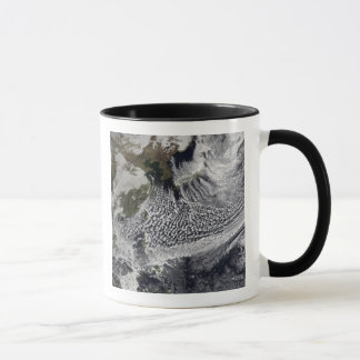 Cloud simulation of a single day 4 mug