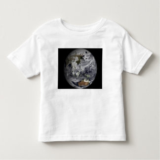 Cloud simulation of the full Earth Toddler T-shirt