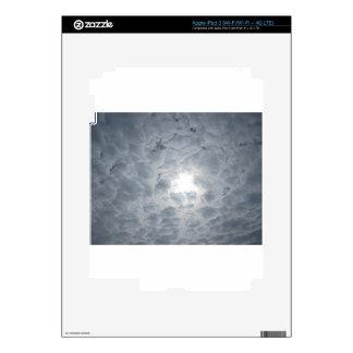 Cloud sky sunlight iPad 3 skin