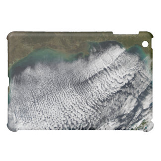Cloud streets in the Gulf of Mexico iPad Mini Case