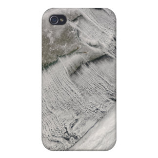 Cloud streets off New England and the Maritimes Case For iPhone 4