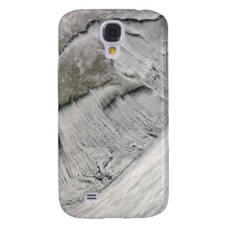 Cloud streets off New England and the Maritimes Galaxy S4 Cover