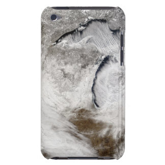 Cloud streets over Lake Superior and Lake Michi iPod Touch Case