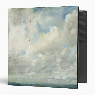 Cloud Study, 1821 (oil on paper laid down on board 3 Ring Binder