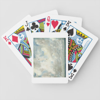Cloud Study, 1821 (oil on paper laid down on board Bicycle Playing Cards