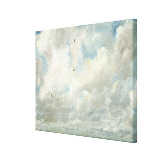 Cloud Study, 1821 (oil on paper laid down on board Canvas Print