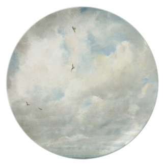 Cloud Study, 1821 (oil on paper laid down on board Plate