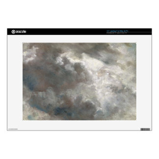 "Cloud Study, 1821 (oil on paper laid down on paper 15"" Laptop Skin"