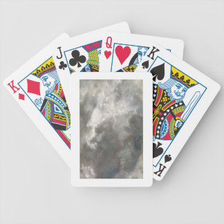 Cloud Study, 1821 (oil on paper laid down on paper Bicycle Playing Cards