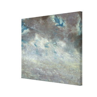 Cloud Study, 1821 (oil on paper on board) Canvas Print
