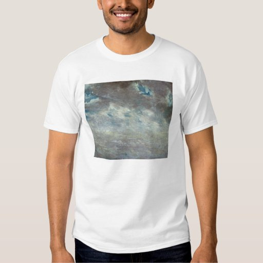 Cloud Study, 1821 (oil on paper on board) Shirt