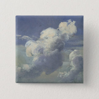 Cloud Study, 1832 Pinback Button