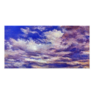 Cloud Study By John Constable (Best Quality) Personalized Photo Card