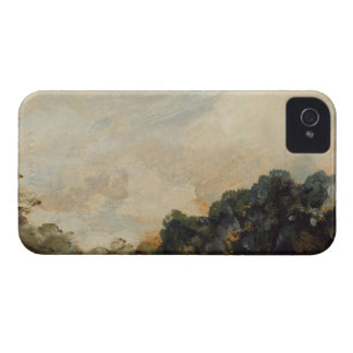 Cloud Study with Trees, 1821 (oil on paper laid do iPhone 4 Cases