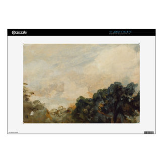 Cloud Study with Trees, 1821 (oil on paper laid do Skin For Laptop