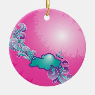 Cloud Swirl Ornament