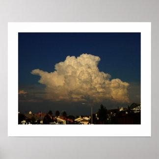Cloud Temecula Poster